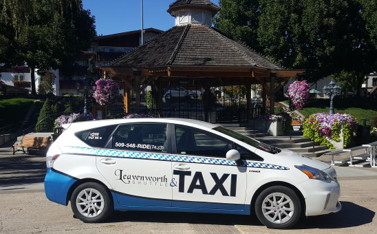 leavenworth shuttle and taxi
